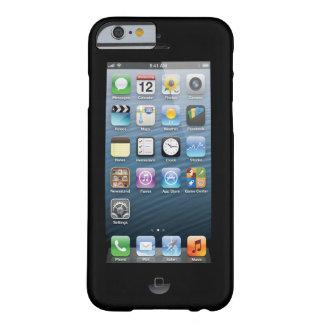 Confunda a la gente con la impresión de pantalla funda para iPhone 6 barely there