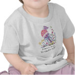 ¡confunda, este bebé sabe sacudida del howto él!! camiseta