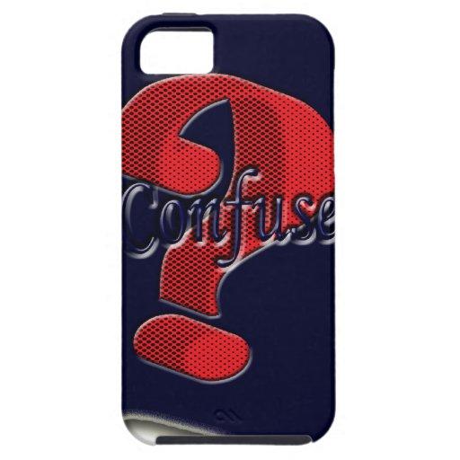 Confunda piden símbolo que el símbolo agradable gr iPhone 5 Case-Mate carcasas
