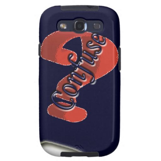 Confuse Ask Symbol the nice symbol Samsung Galaxy SIII Covers