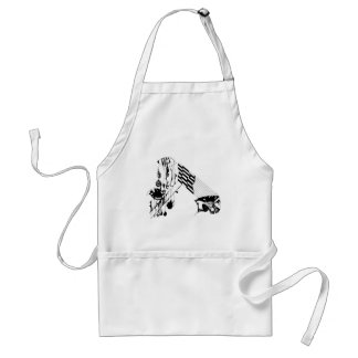 Confused Adult Apron