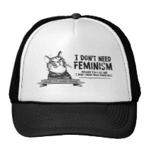 Confused Cats (for light-colored products) Trucker Hat