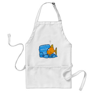Confused Clownfish Adult Apron