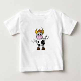 Confused Cow Baby Top T Shirt