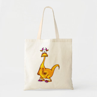 Confused Dragon Tote Bag
