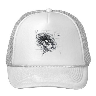 CONFUSED DREAD TRUCKER HAT