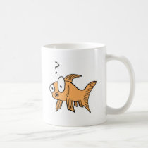 Confused Goldfish Coffee Mug