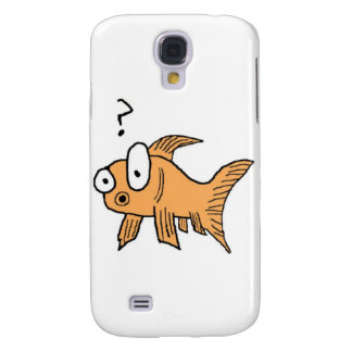Confused Goldfish Galaxy S4 Case