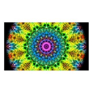 confused harmony kaleidoscope business card