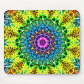 confused harmony kaleidoscope mouse pad
