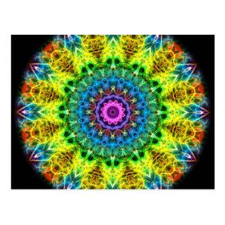 confused harmony kaleidoscope postcard