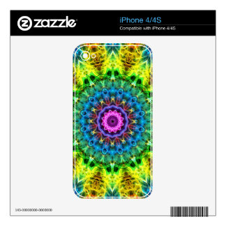 confused harmony kaleidoscope decals for the iPhone 4S