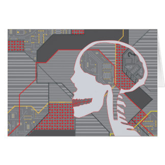 confused heart logicskull card