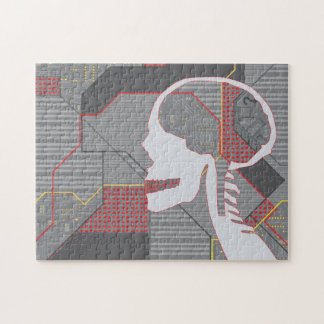 confused heart logicskull jigsaw puzzle