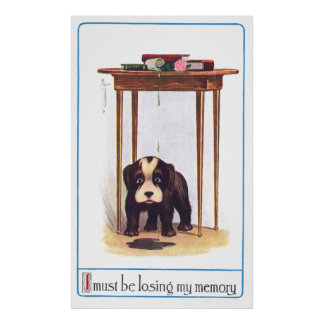 Confused Little Dog Posters
