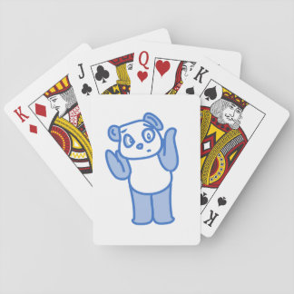 Confused Panda Playing Cards
