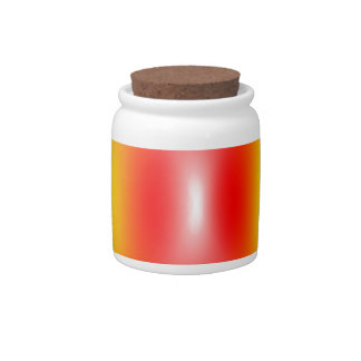 Confused rainbow colours abstract candy dish