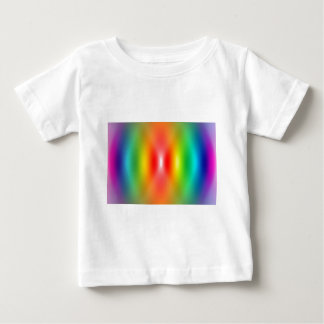 Confused rainbow colours abstract t shirts