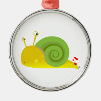 Confused Snail Ornament