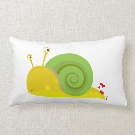 Confused Snail Pillow