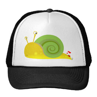 Confused Snail Trucker Hat