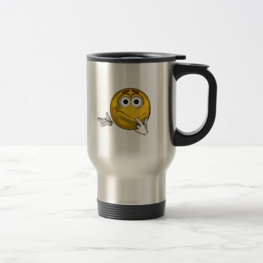Confused - toon travel mug