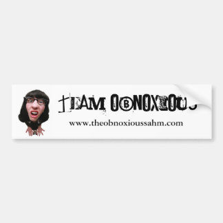 Confused, www.theobnoxiossahm.com bumper sticker