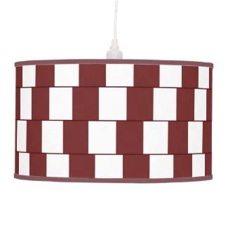 Confusing lines Bordeaux Ceiling Lamp