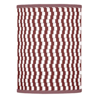 Confusing lines Bordeaux Lamp Shade