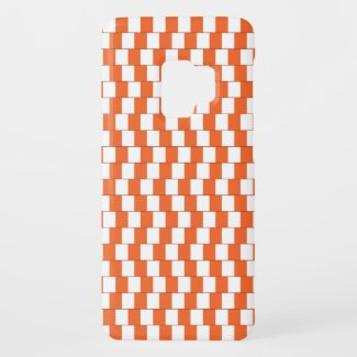 Confusing lines Orange Case-Mate Samsung Galaxy S9 Case