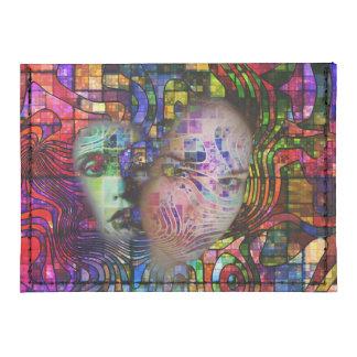 Confusión artística de la niebla del cerebro tarjeteros tyvek®