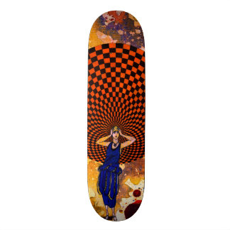 Confusion by Michael Moffa Skateboard Deck