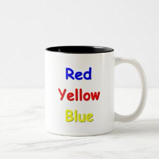 Confusión del color taza de dos tonos
