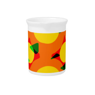 Confusion in Fall Drink Pitcher