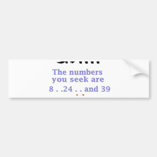 Confusius say Prawn Crackers png Bumper Stickers
