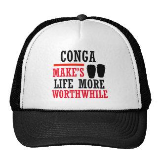 conga design hat