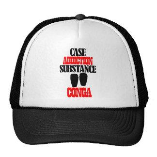 Conga designs mesh hats