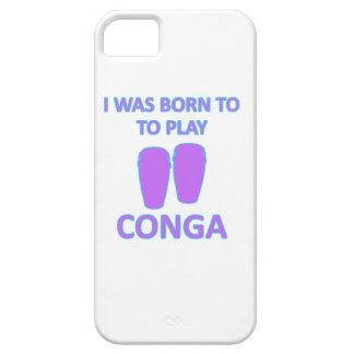 conga designs iPhone SE/5/5s case