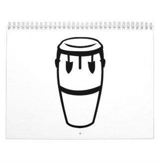 Conga drum calendar
