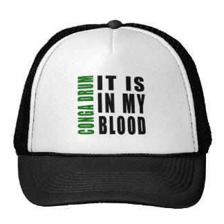 Conga drum It Is In My Blood Trucker Hat