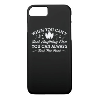 Conga Drummer Can Always Feel Beat Shirt iPhone 8/7 Case