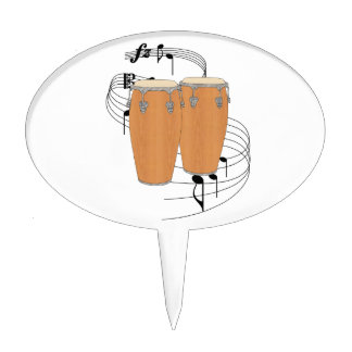 Conga Drums Cake Topper