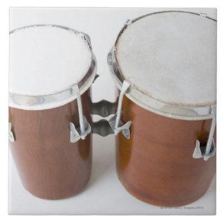 Conga Drums Ceramic Tile