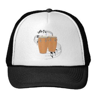 Conga Drums Mesh Hats