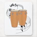Conga Drums Mouse Pad