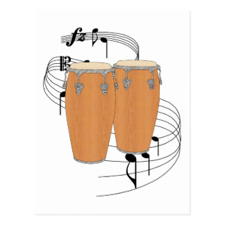 Conga Drums Post Cards