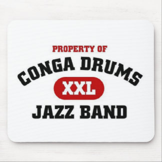Conga Drums xxl Jazz band Mouse Pad