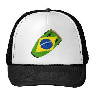 Conga Flag Brazil Trucker Hat