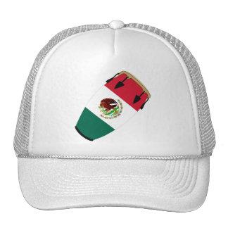 Conga Flag Mexico Mesh Hat