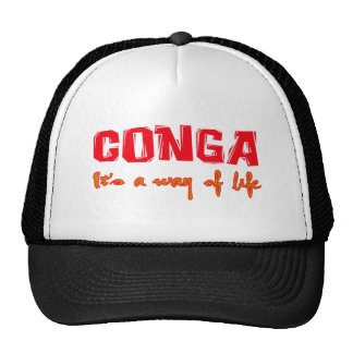 conga It's a way of life Trucker Hat